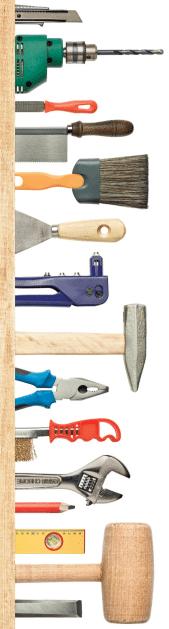 tools rechts
