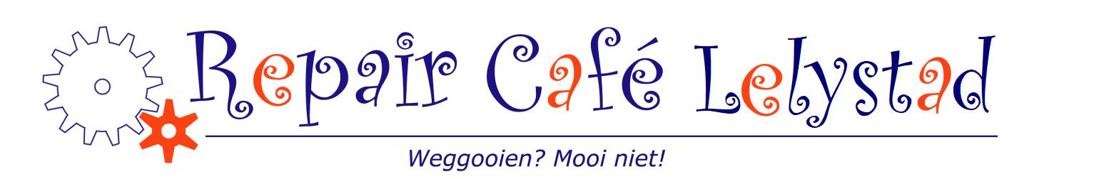 Repair Café Lelystad